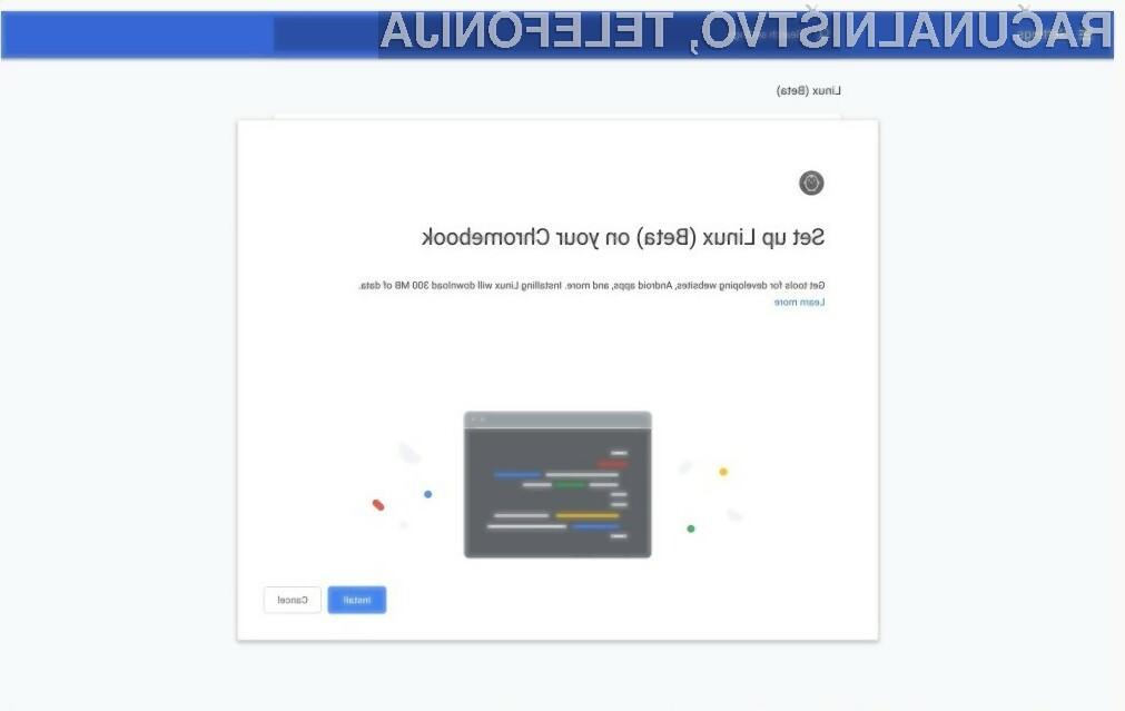 Novi Chrome OS 69 je prva končna različica, ki zagotavlja polno podporo za aplikacije Linux.