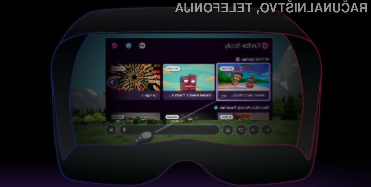 Mozilla Firefox Reality je prvi spletni brskalnik namenjen navidezni resničnosti!