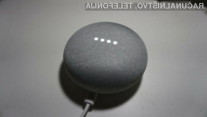 Med vsemi je zdaleč najbolj priljubljen pametni zvočnik Google Home Mini.