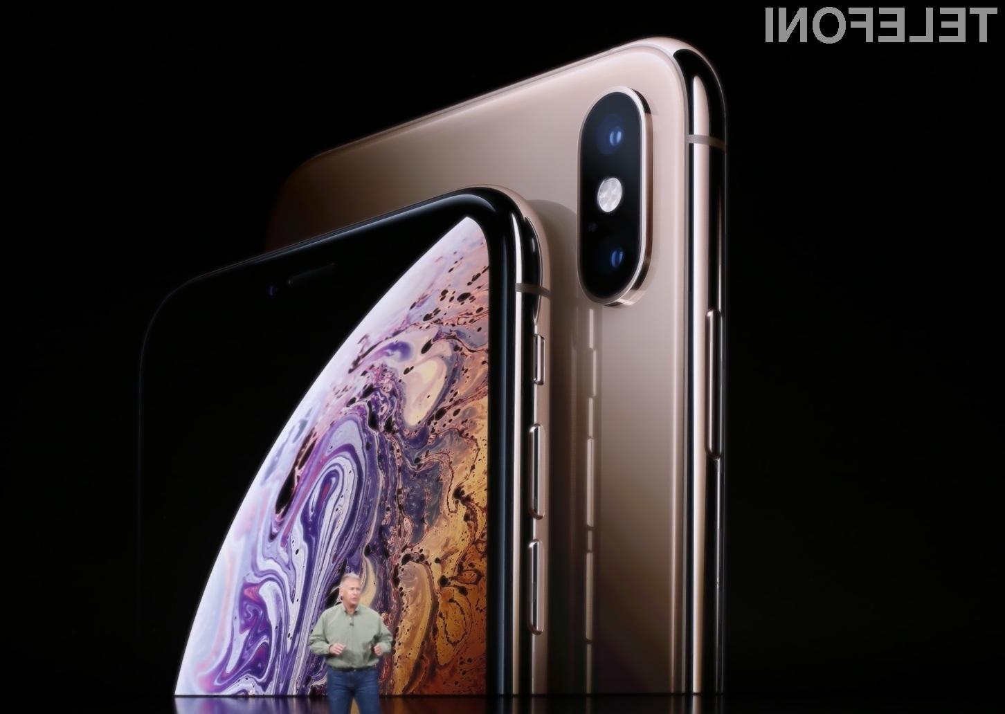 Pametna mobilna telefona Apple iPhone XS in iPhone XS Max ne prinašata revolucije, ampak le odlično evolucijo zdajšnjih modelov.