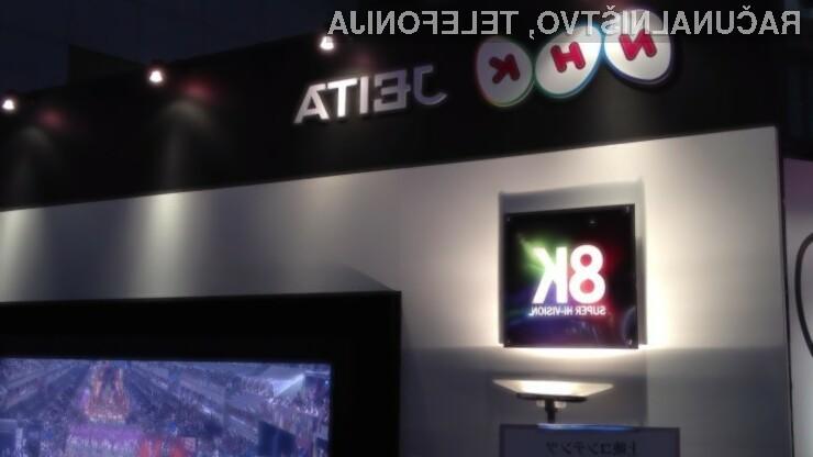 Japonska lokalna državna televizija NHK bo prva na svetu, ki bo prenašala televizijski program v ločljivosti 8K!