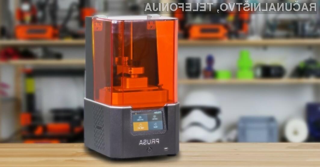 3D tiskalnik Original Prusa SL1 v celoti temelji na odprti kodi!