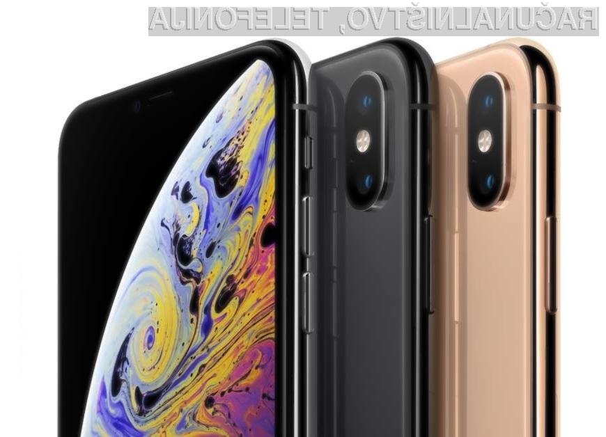 Za najcenejši iPhone Xs s 64 gigabajti prostora je treba odšteti kar zavidljivih 1.210 evrov.