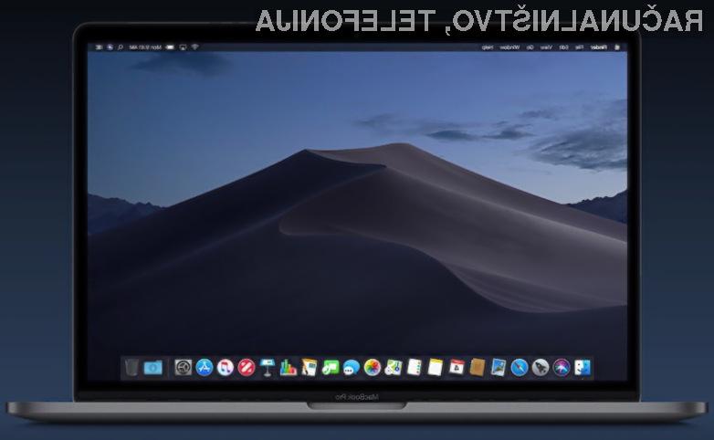 Novi operacijski sistem Apple macOS 10.14 Mojave prinaša številne novosti.