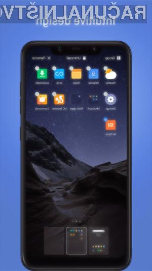 Inovativni grafični vmesnik POCO Launcher je na voljo tudi za druge mobilne naprave Android!
