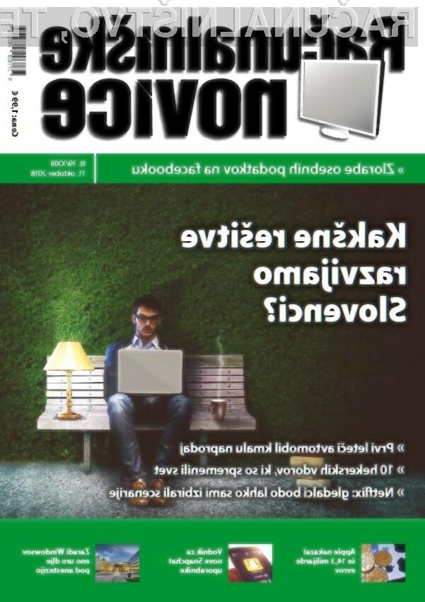 Nova izdaja revije Računalniške novice že na voljo v vaši prodajalni časopisov in revij.