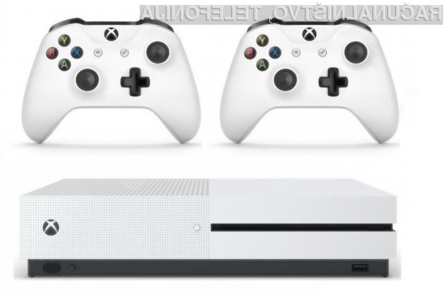 Igralna konzola Xbox One S 1TB z dvema kontrolerjema – IZKLICNA CENA 1 €!