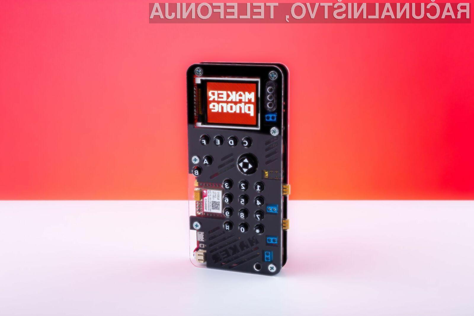 Mobilni telefon MAKERphone je resnično nekaj posebnega!