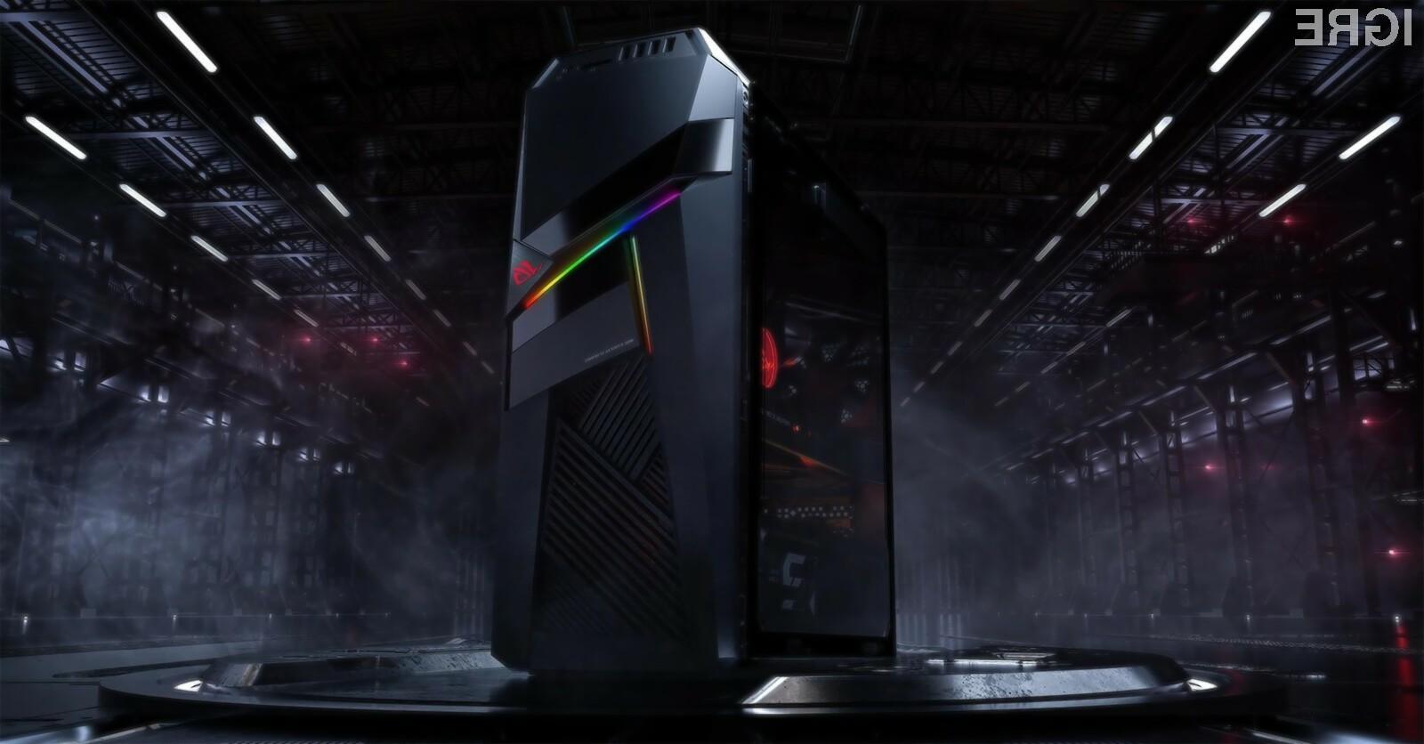 Namizni računalnik Asus Strix GL12CX bo zlahka kos tudi najzahtevnejšim igram!
