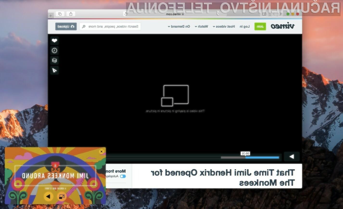 Uporaba nove možnosti »slike-v-sliki« v spletnem brskalniku Chrome 70 vas bo zagotovo navdušila!