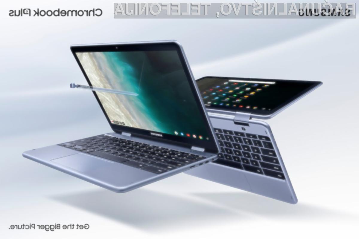 Prenovljeni prenosnik Samsung Chromebook Plus V2 bo zagotovo navdušil tudi zahtevnejše!