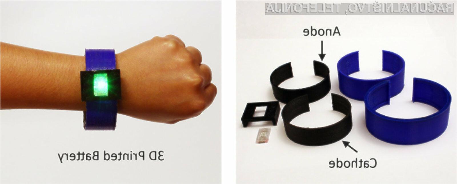 Baterije za mobilne naprave bi lahko že v bližnji prihodnosti kar natisnili s pomočjo 3D tiskalnika!