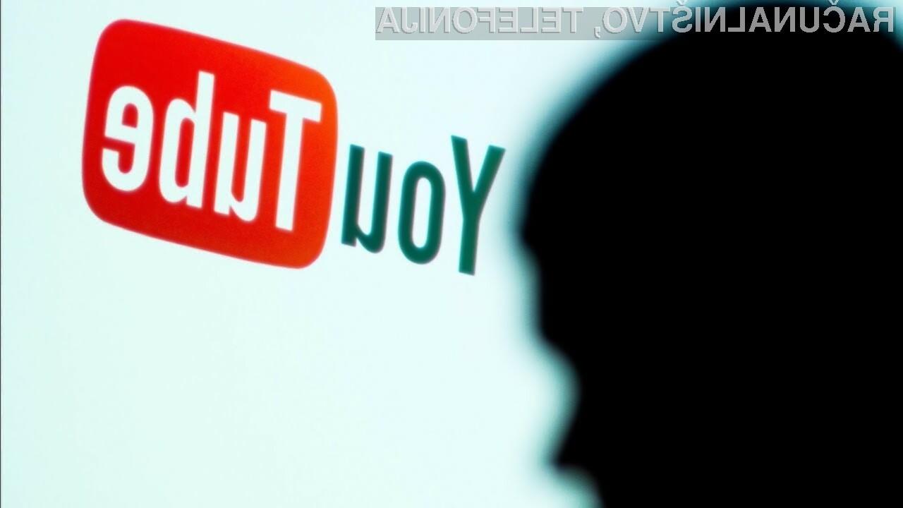 Na račun izpada spletnega portala YouTube je največ pridobila pornografska spletna stran PornHub.