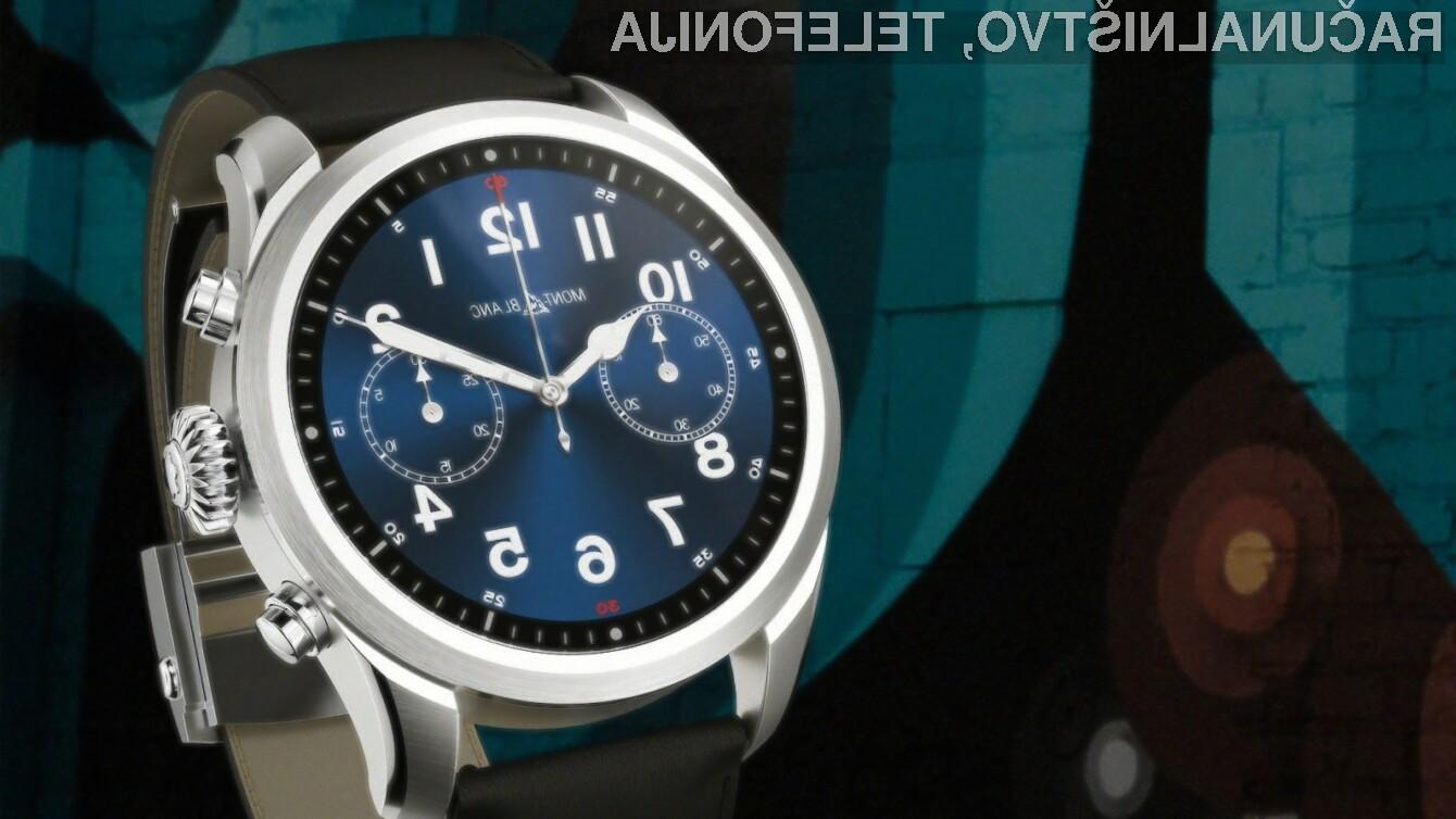 Pametna ročna ura Montblanc Summit 2 je prva na svetu, ki je opremljena s platformo Snapdragon Wear 3100.