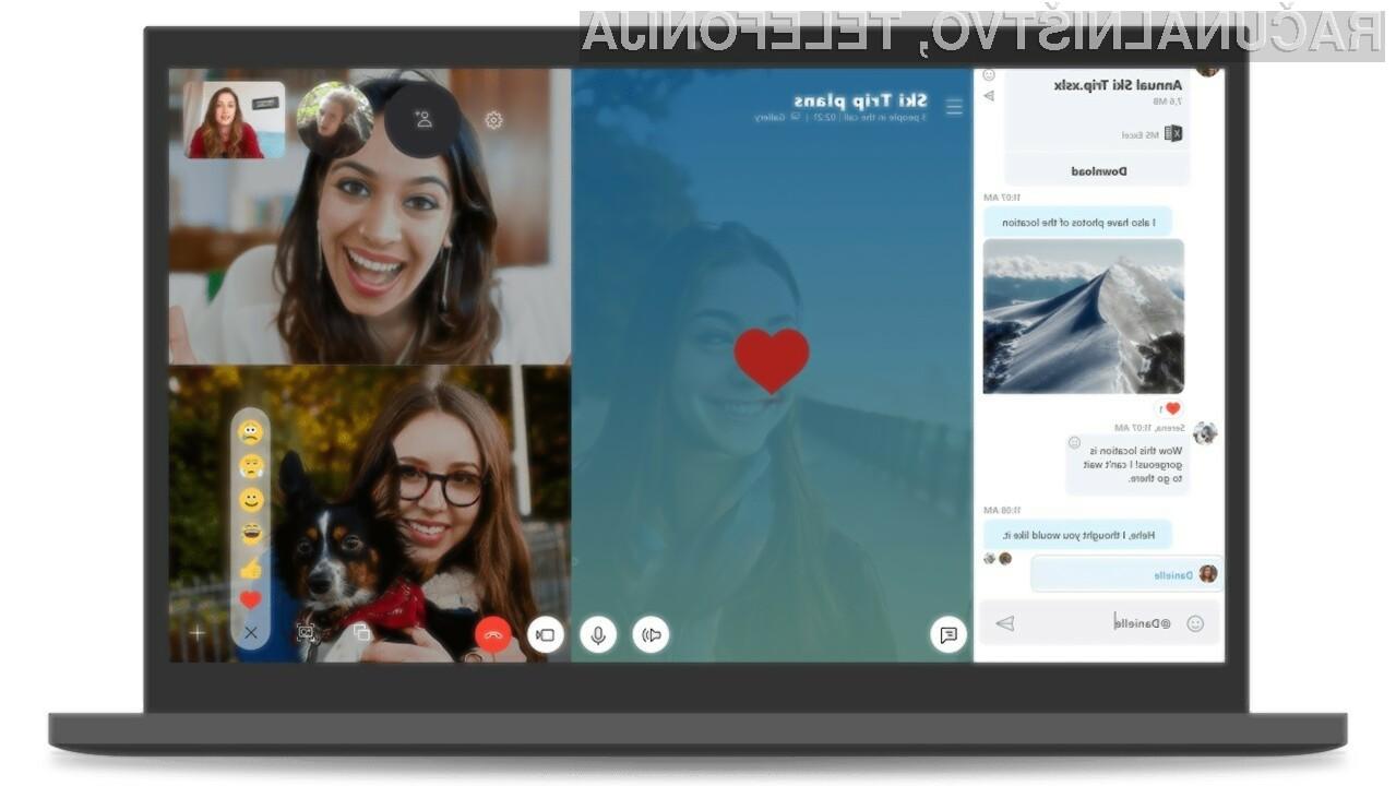 Klasični Skype se bo za vedno poslovil 1. novembra letos!