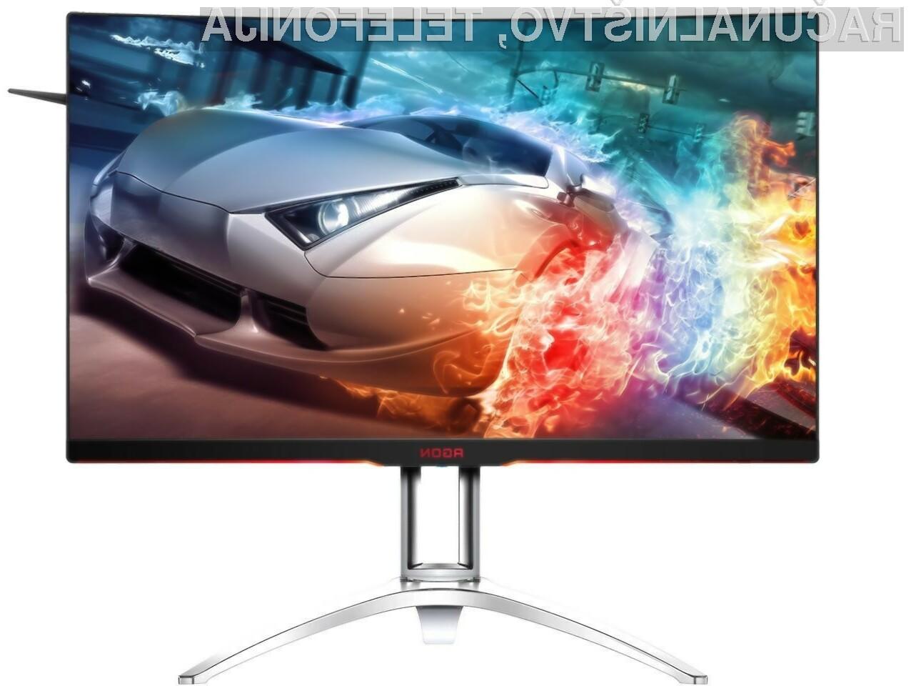 Novi zaslon podjetja AOC je primeren tako za igre kot za gledanje filmov!