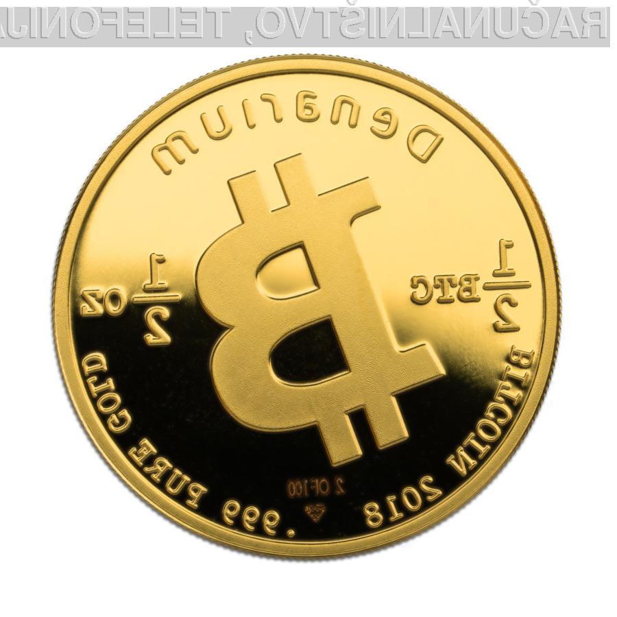 Podjetje Denarium omogoča