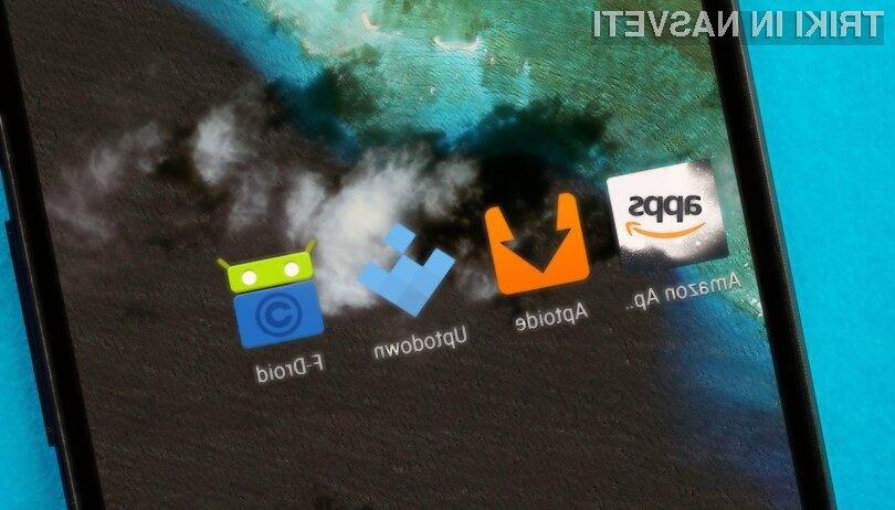 Nekaj Google Play alternativ na voljo za prenos