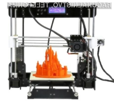 3D tiskalnik Anet A8.