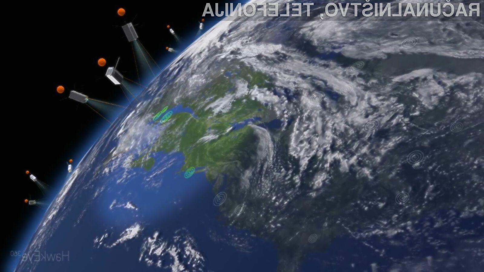 Miniaturni sateliti podjetja SpaceX naj bi piratom in tihotapcem v prihodnosti povzročali precej preglavic.