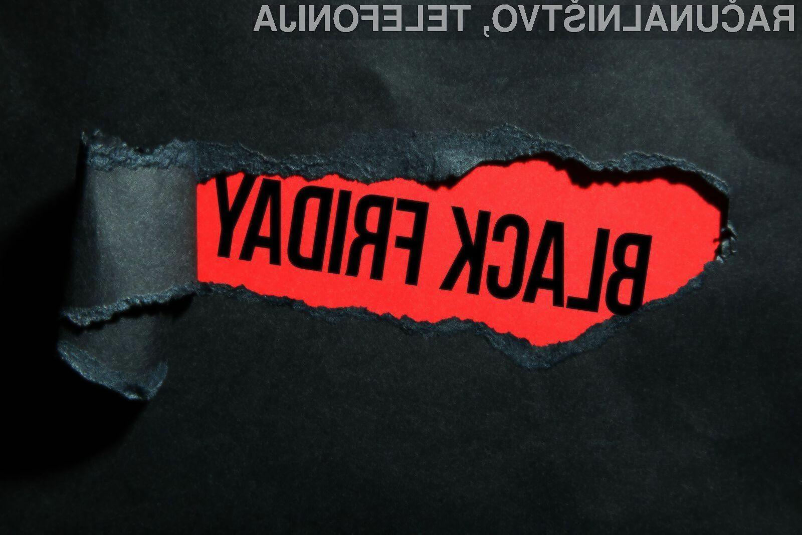 Nepazljivim se črni petek lahko spremeni v finančno nočno moro