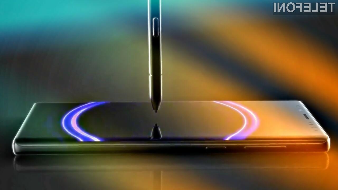 Novi Samsung Galaxy Note10 naj bi prinesel kar nekaj uporabnih novosti!