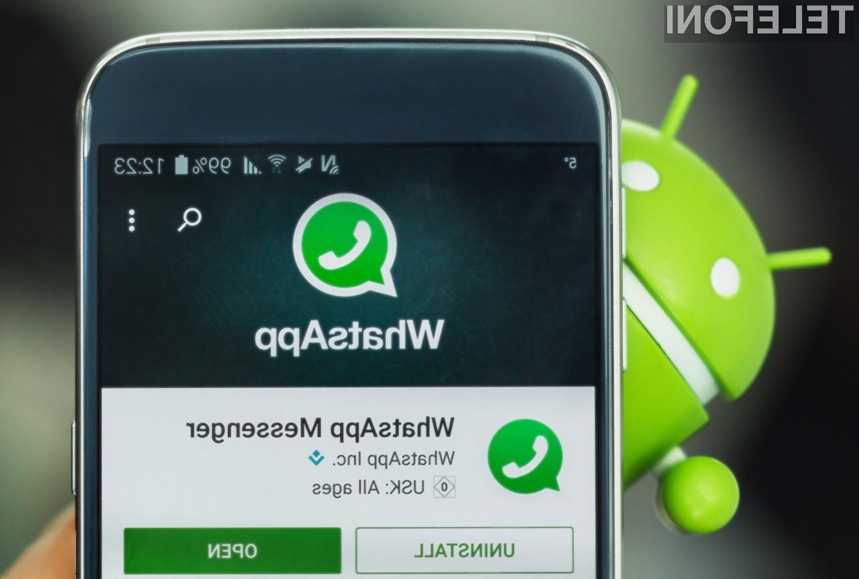 Če uporabljate WhatsApp si nemudoma izdelajte varnostno kopijo vaših sporočil.