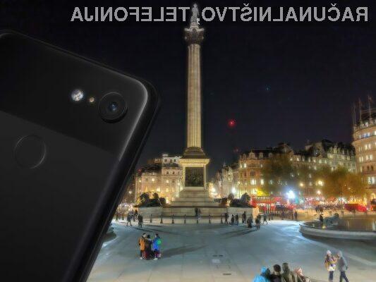 Funkcionalnost Night Sight poskrbi za odlične fotografije tudi ob zmanjšani svetlobi.