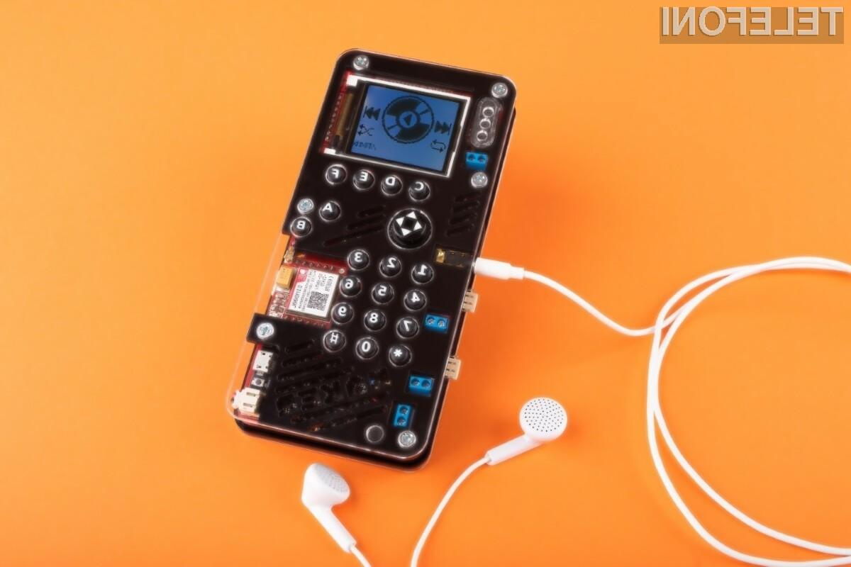 Mobilni telefon MAKERphone je resnično nekaj posebnega in edinstvenega na trgu mobilne telefonije!