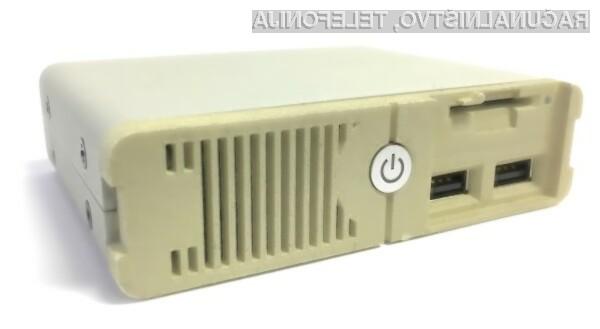 Igralna enota Unit-e PC Classic bo temeljila na operacijskem sistemu DOS.