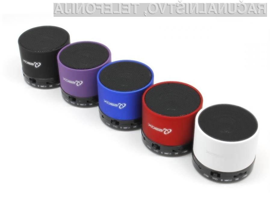 Bluetooth zvočnik SBOX – IZKLICNA CENA 1 €!