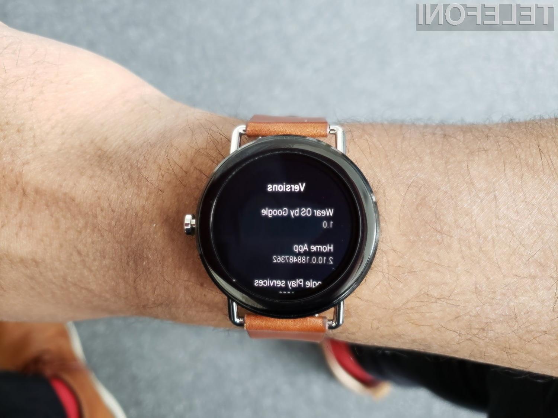 S to potezo bo Google poskrbel za daljšo avtonomijo pametnih ročnih ur
