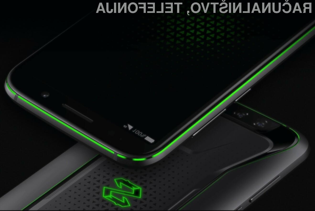 Novi Xiaomi Black Shark je dejansko namenjen igranju najzahtevnejših mobilnih iger!
