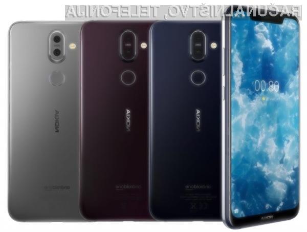 Nokia 8.1 bo prepričal tudi najzahtevnejše uporabnike.