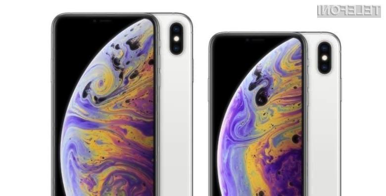 Podjetje Apple naj bi pri novih telefonih iPhone zavajalo tako z velikostjo zaslona kot gosto slikovnih točk.