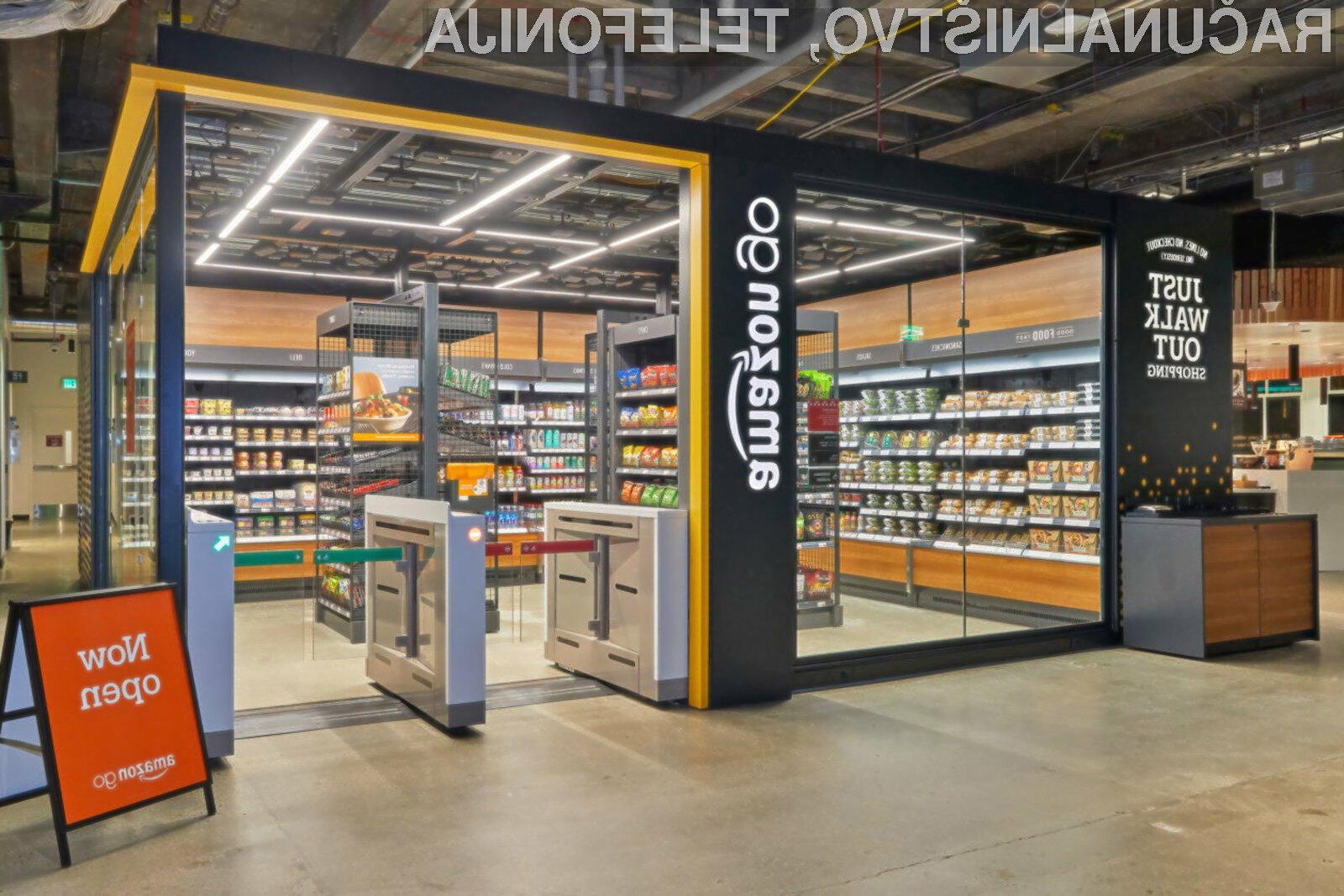 Trgovina Amazon Go je odslej na voljo celo zaposlenim nekega podjetja v Seattlu.