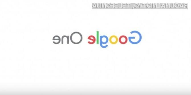 Preizkusite Google One med prvimi