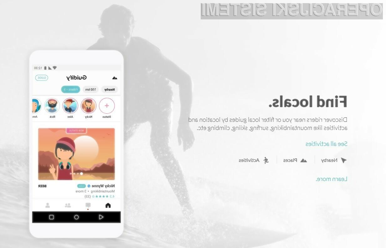 Guidify je trenutno na voljo za prenos za naprave Android, ki podpirajo verzije 4.4 ali višje.