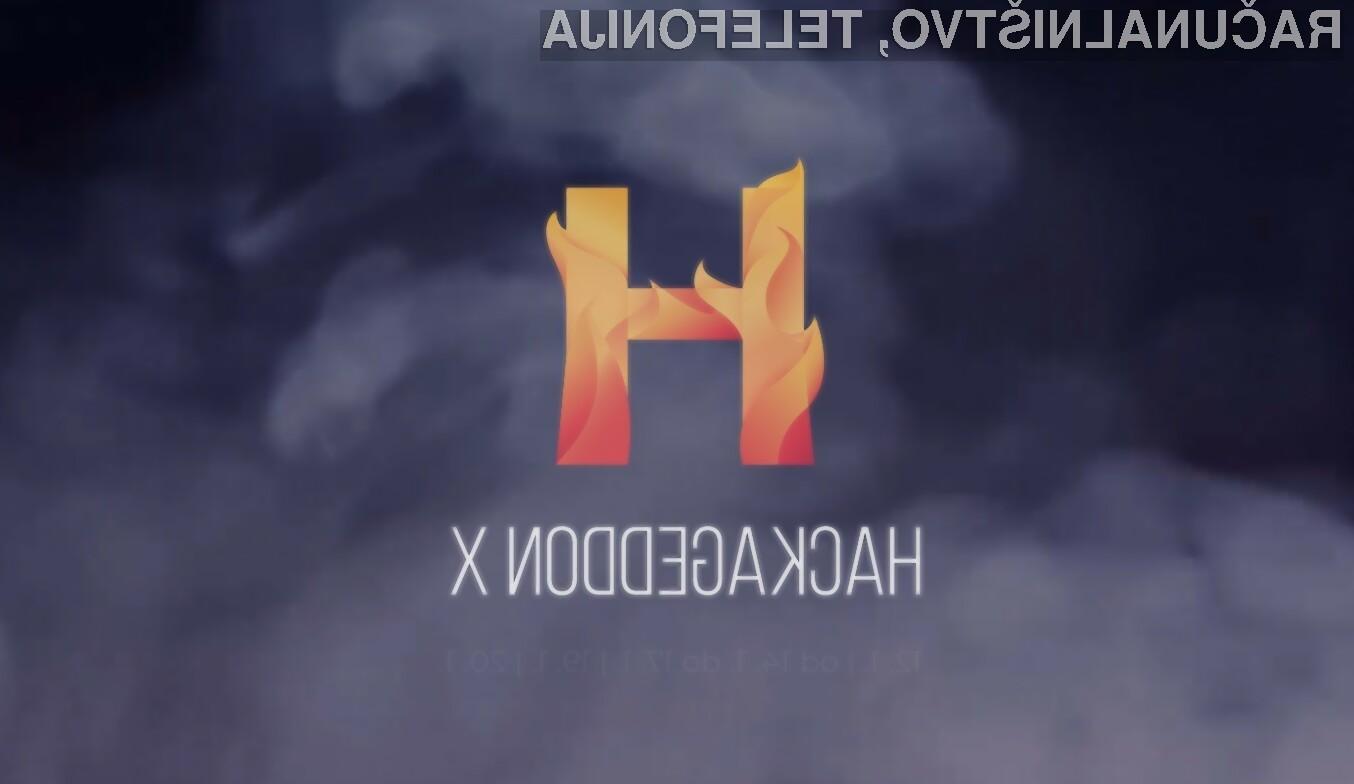 Turnir mladih Hackageddon X bo potekal v soboto, 12. januarja, in nedeljo, 13. januarja 2019.