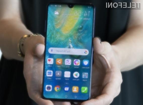 Huawei Mate 20 je trenutno najzmogljivejši pametni mobilni telefon Android!