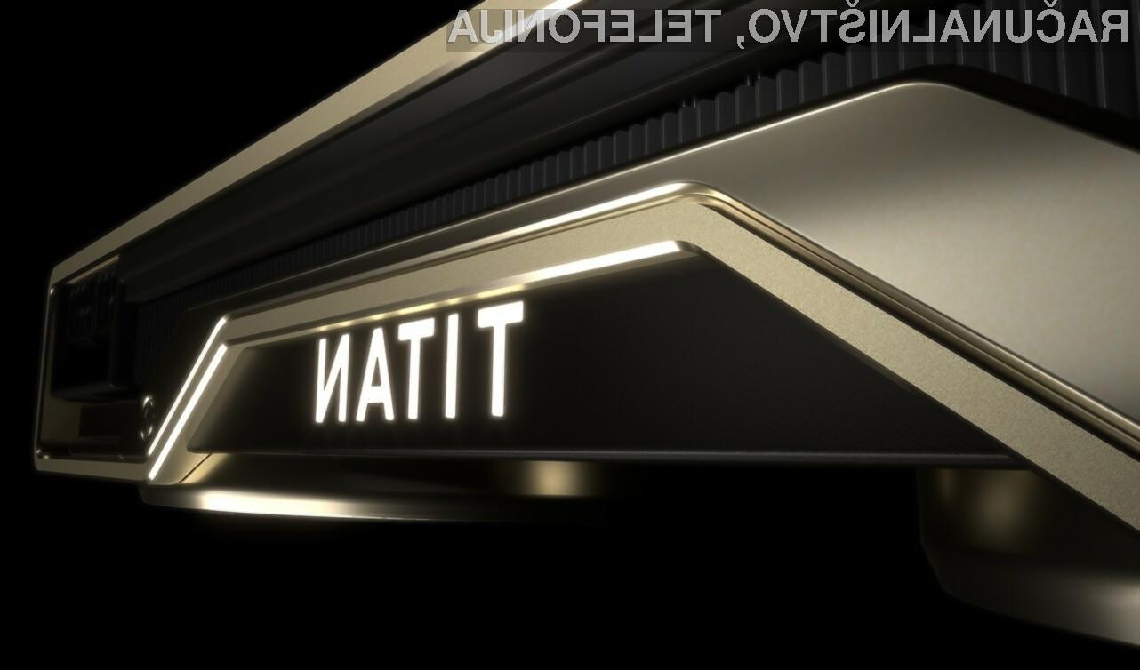 Grafična kartica Nvidia Titan RTX bo zlahka kos tudi najzahtevnejšim nalogam!