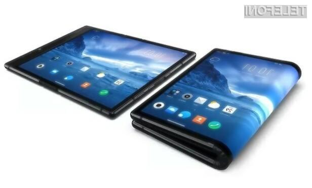 Vstopna različica upogljivega telefona Royole FlexPai ja naprodaj za kar 1.388 evrov.