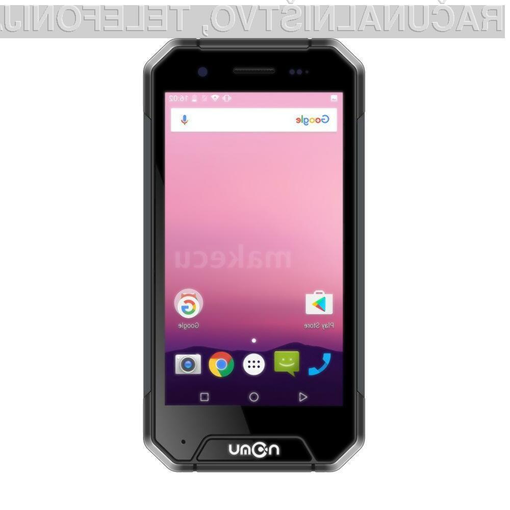 Pametni mobilni telefon NOMU S30 Mini Tri-Proof nam bo zagotovo dolgo služil!