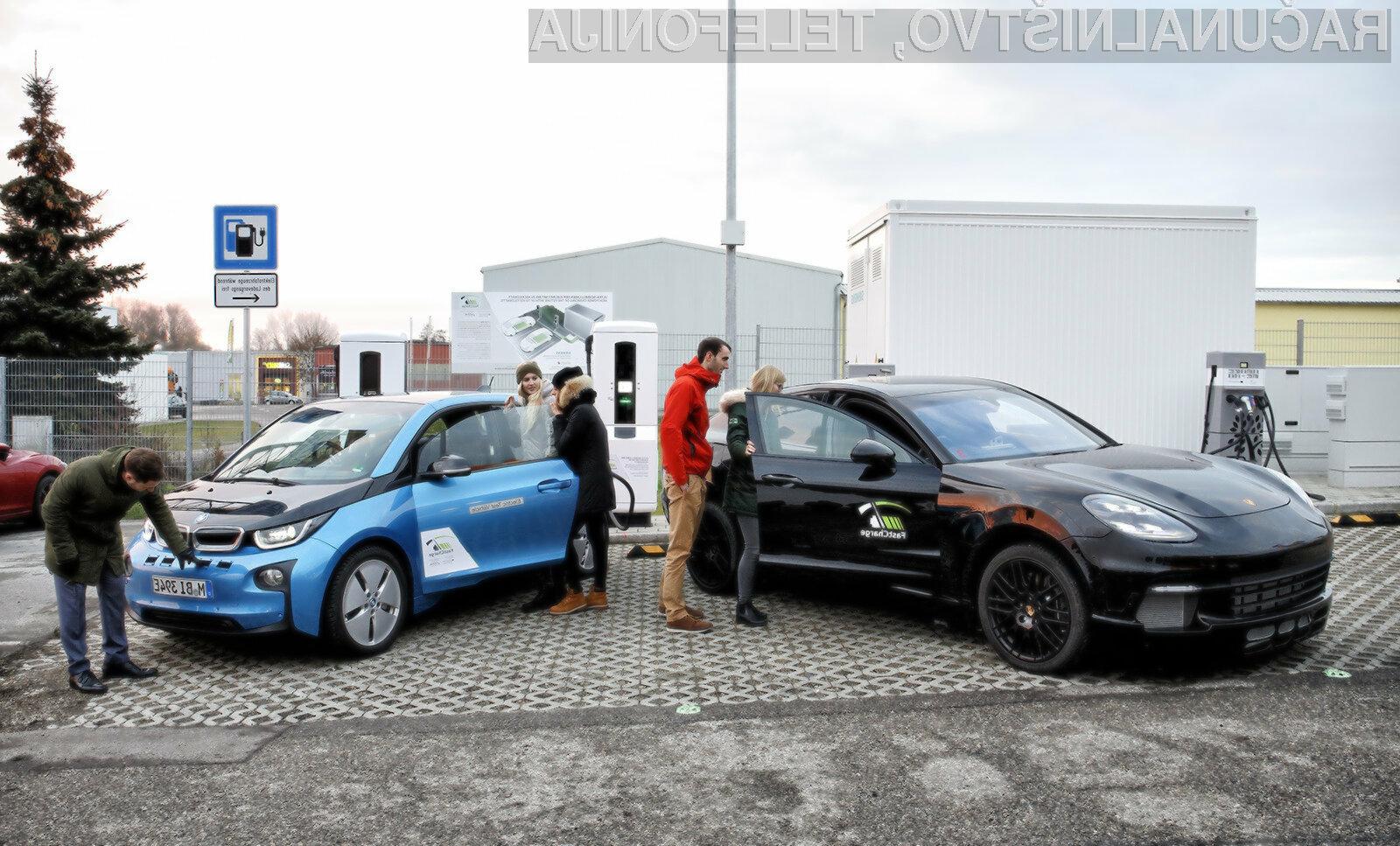 Polnilne postaje za električne avtomobile postajajo iz dneva v dan zmogljivejše.