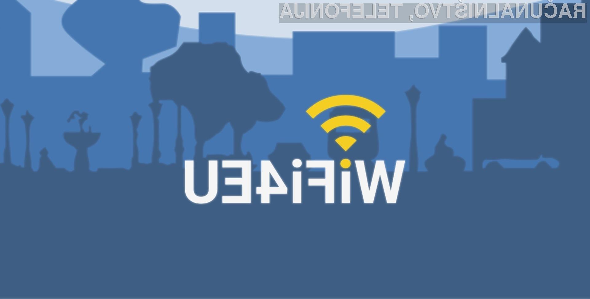 WiFi4EU bo zaživel najkasneje v letu in pol