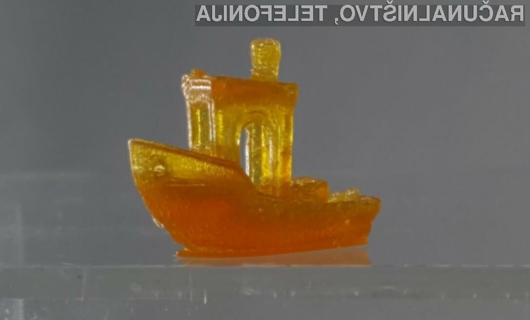 Tiskanje 3D predmetov bi lahko kaj kmalu postalo precej hitrejše.
