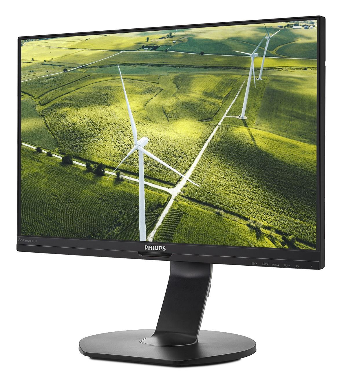 Philips 241B7QGJ pomaga povečati produktivnost in hkrati varuje okolje