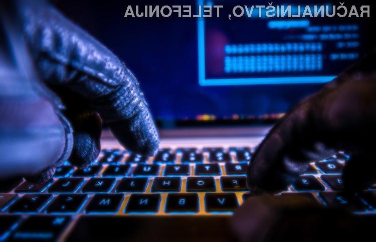 Spletnim kriminalcem je na voljo kar 22 milijonov novih unikatnih dostopnih gesel povezanih z elektronskimi naslovi.