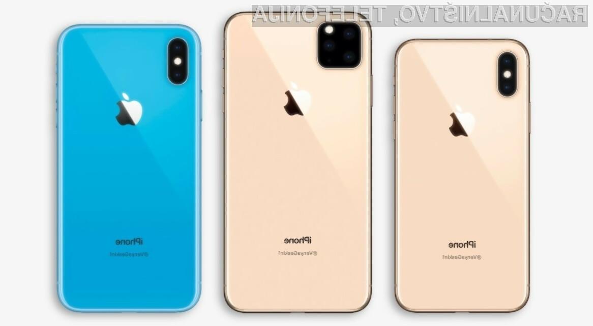 Bo Apple letos ponudil v prodajo tri nove telefone iPhone?