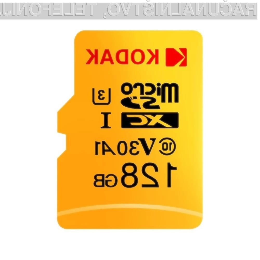 Pomnilniška kartica kapacitete 128 gigabajtov je lahko vaša že za 21,79 evrov!